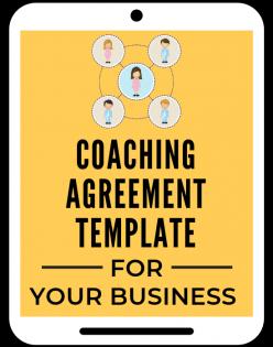 Coaching Agreement Template A Self Guru