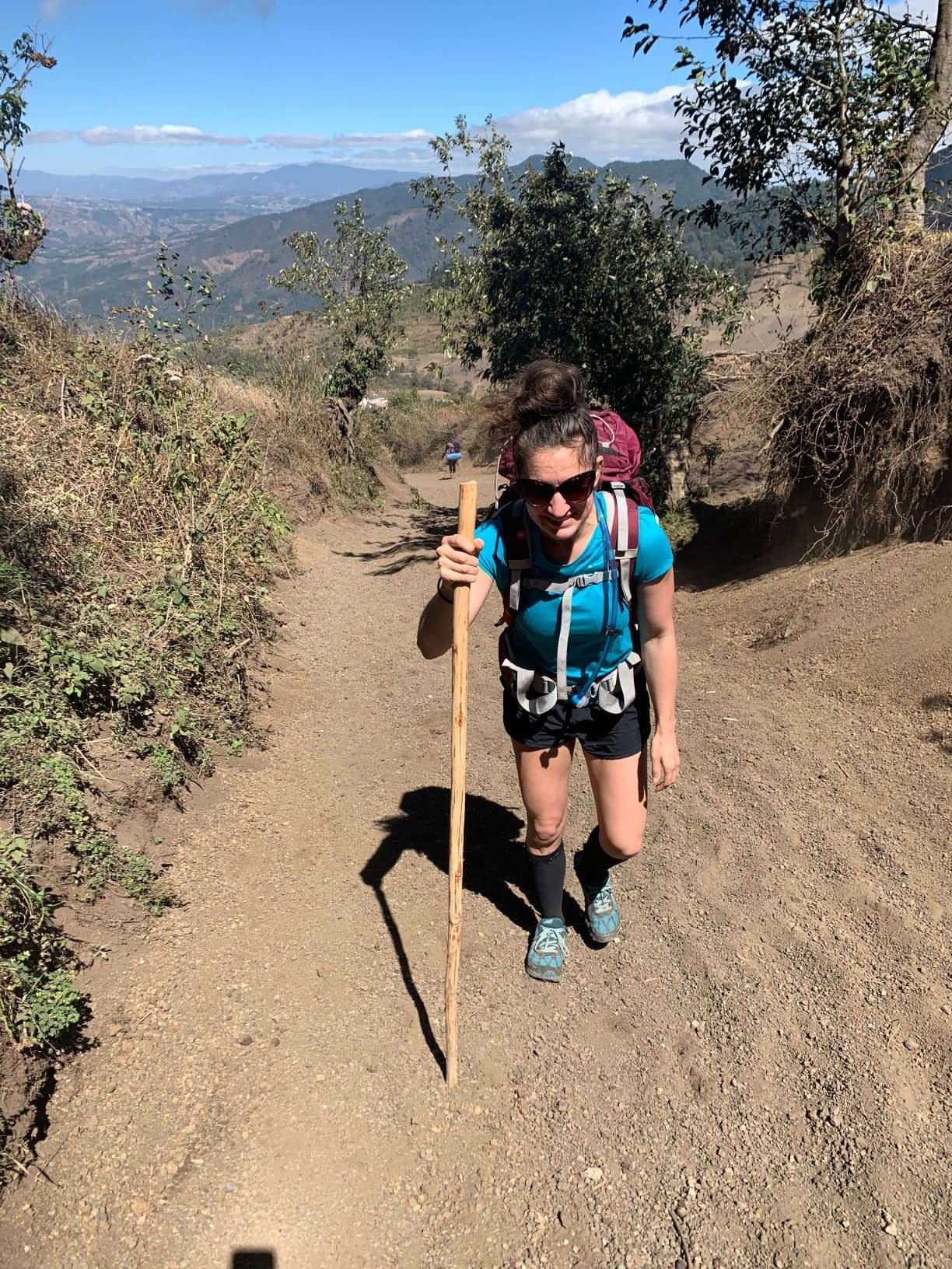 me hiking volcano acatenango