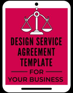 Design Service Agreement Template A Self Guru