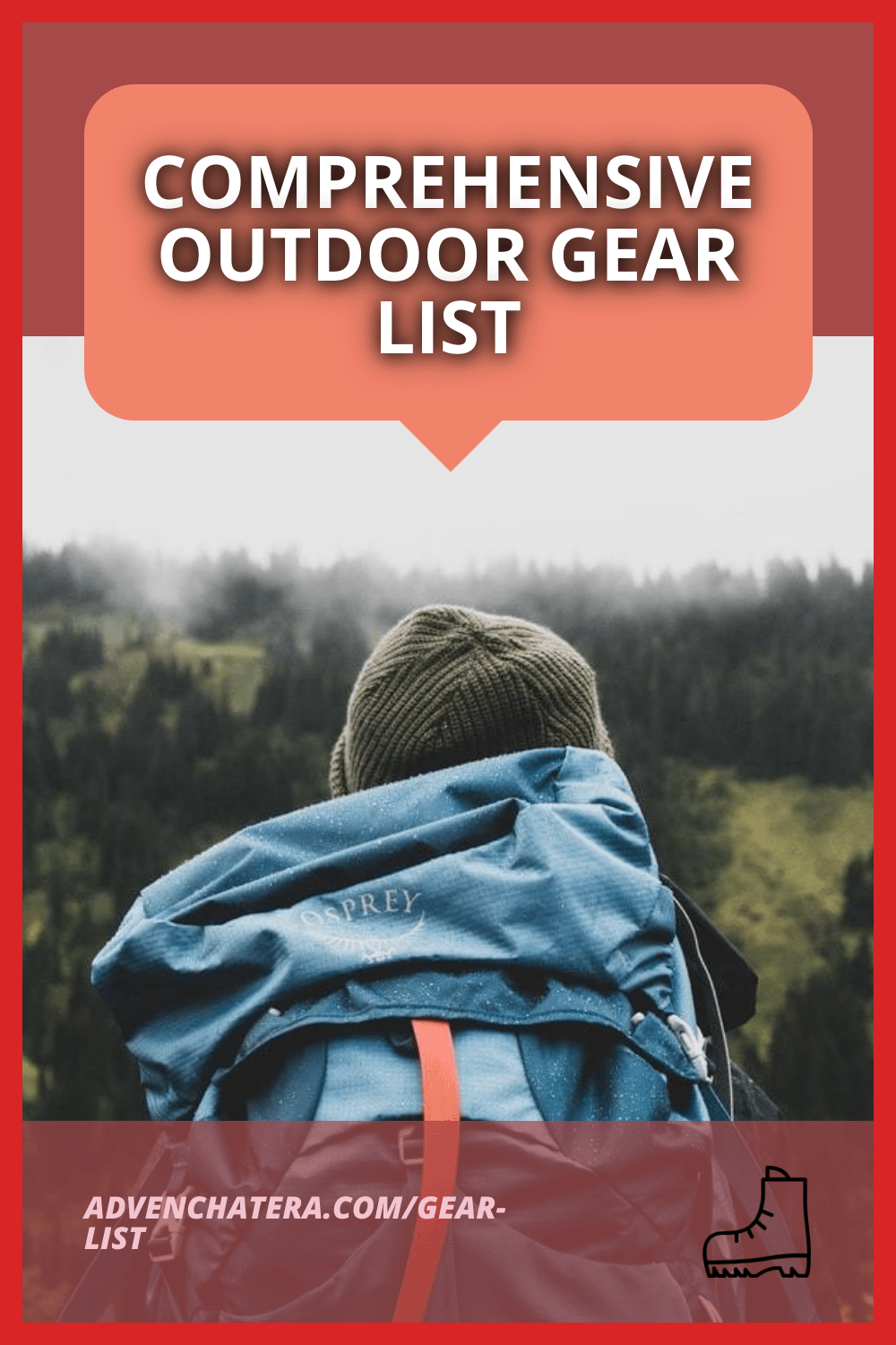 Keeping track of gear needed for camping, hiking and backpacking can be challenging. I learned through experience what I need and don't need for my 3-season trips. I compiled a list all in one place of everything I use personally so that it's easy for you to find! I also have some separate posts about hiking and backpacking gear specifically, but I wanted to make a comprehensive list all in one place to make it easy. #hike #camp #outdoors via @advenchatera via @advenchatera