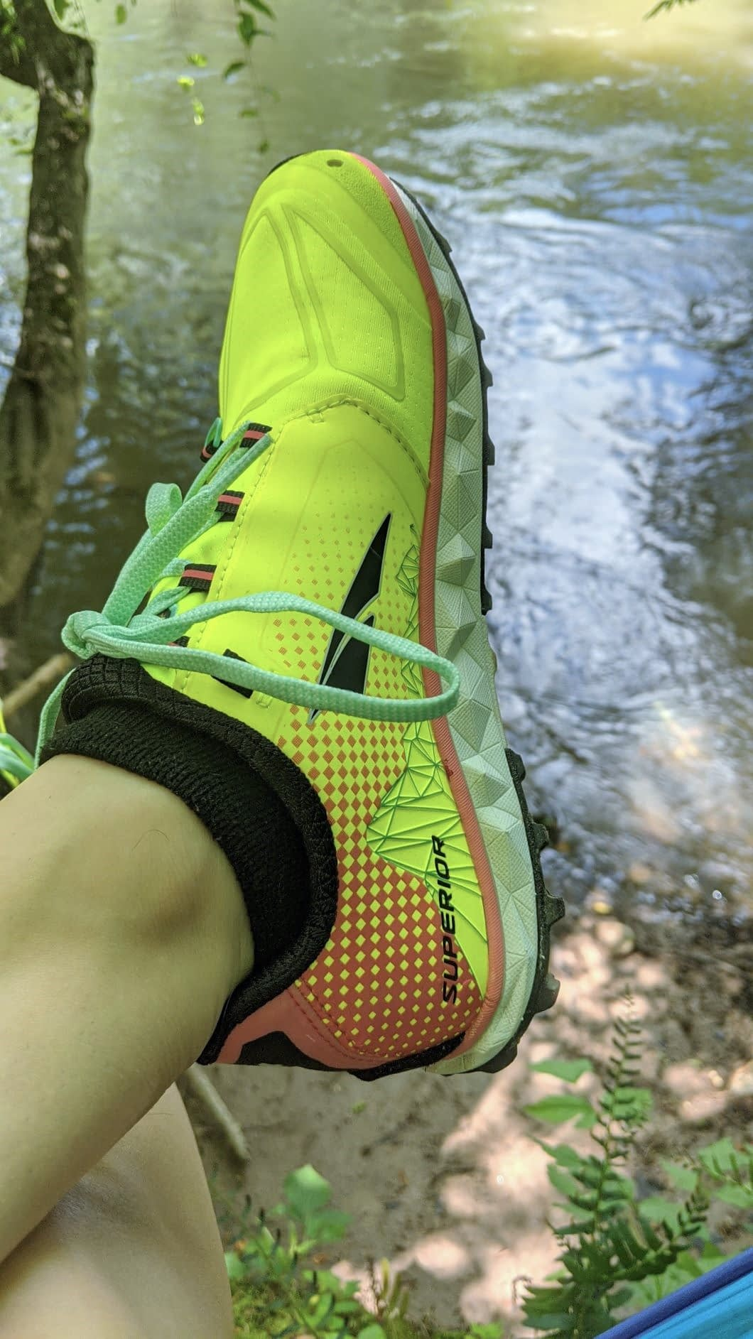 i like my altra shoes for hiking i never get hiking blisters