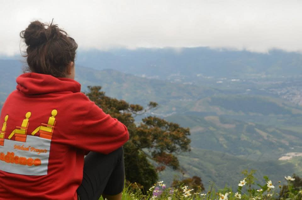 The Mirador, one of the best parts of hiking the secret Acatenango route