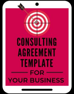 Consulting Agreement Template A Self Guru
