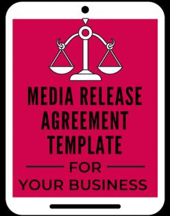 Media Release Agreement Template A Self Guru