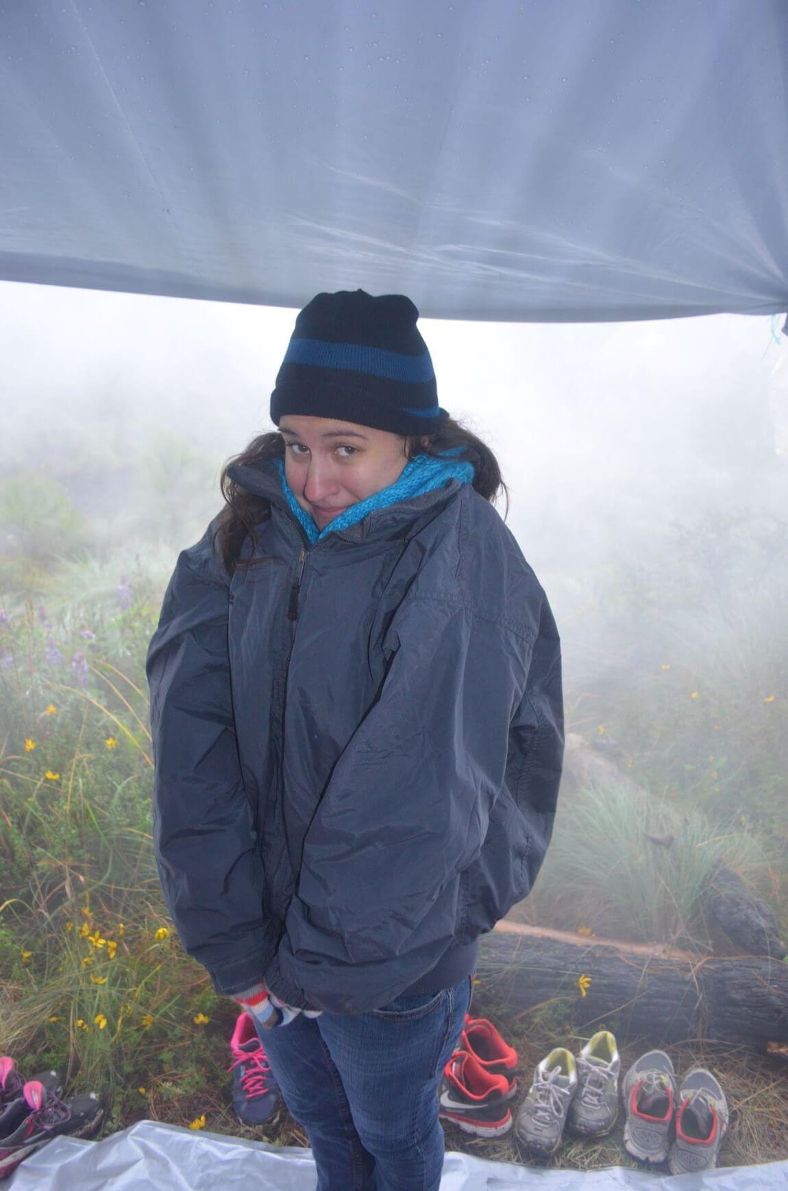 Freezing my Ass of on Volcano Acentango